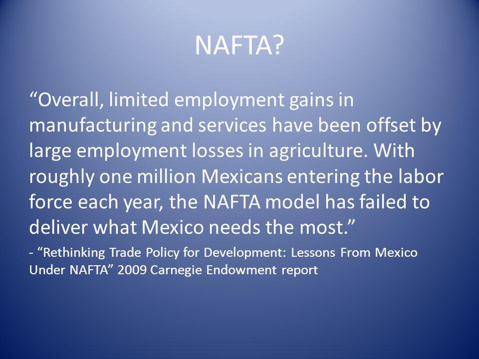 NAFTA.