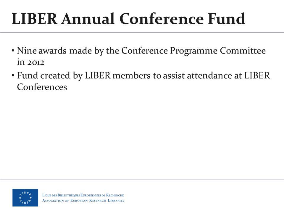 Presentation at 41st LIBER Annual Conference Tartu, Estonia Meeting of participants, 29 June 2012