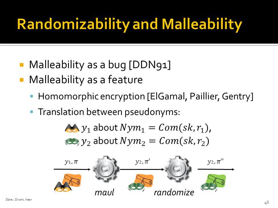 randomizemaul Dolev, Dwork, Naor 48