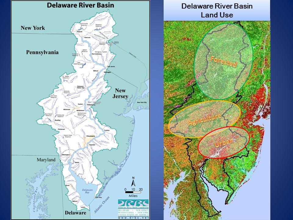 Delaware River Basin Land Use Delaware River Basin Land Use