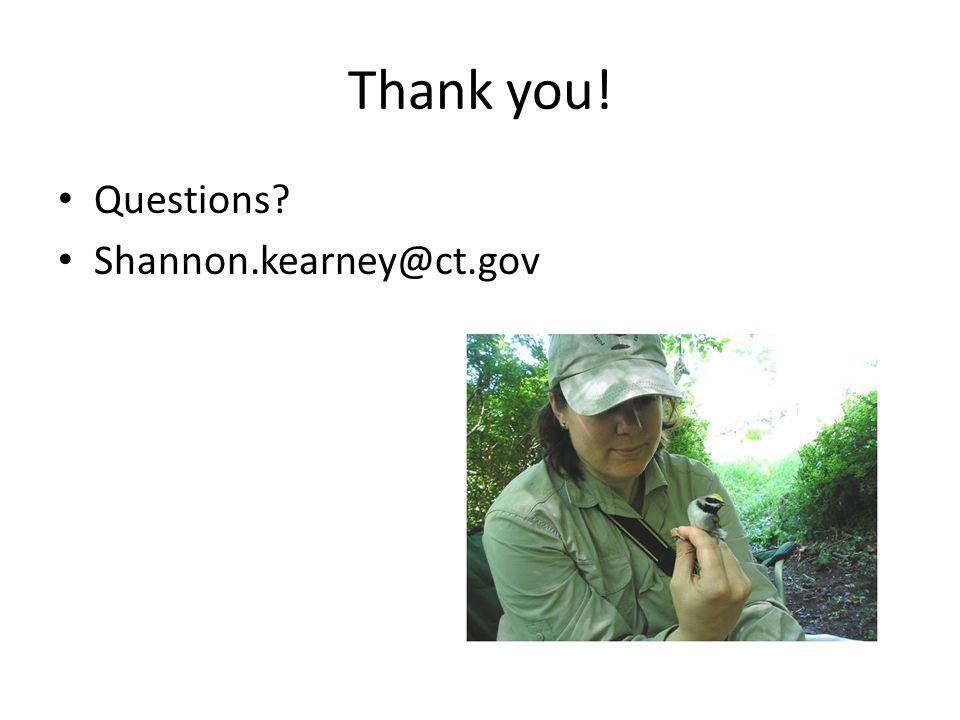 Thank you! Questions Shannon.kearney@ct.gov