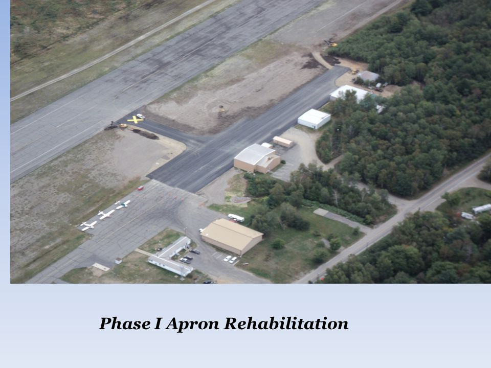 Phase I Apron Rehabilitation
