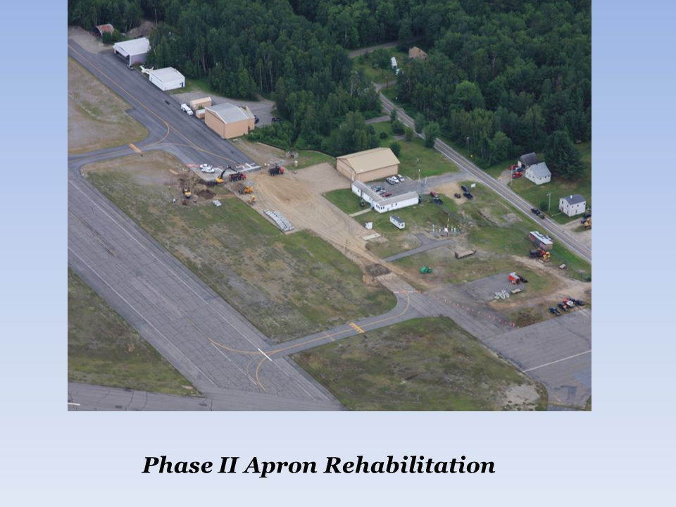 Phase II Apron Rehabilitation