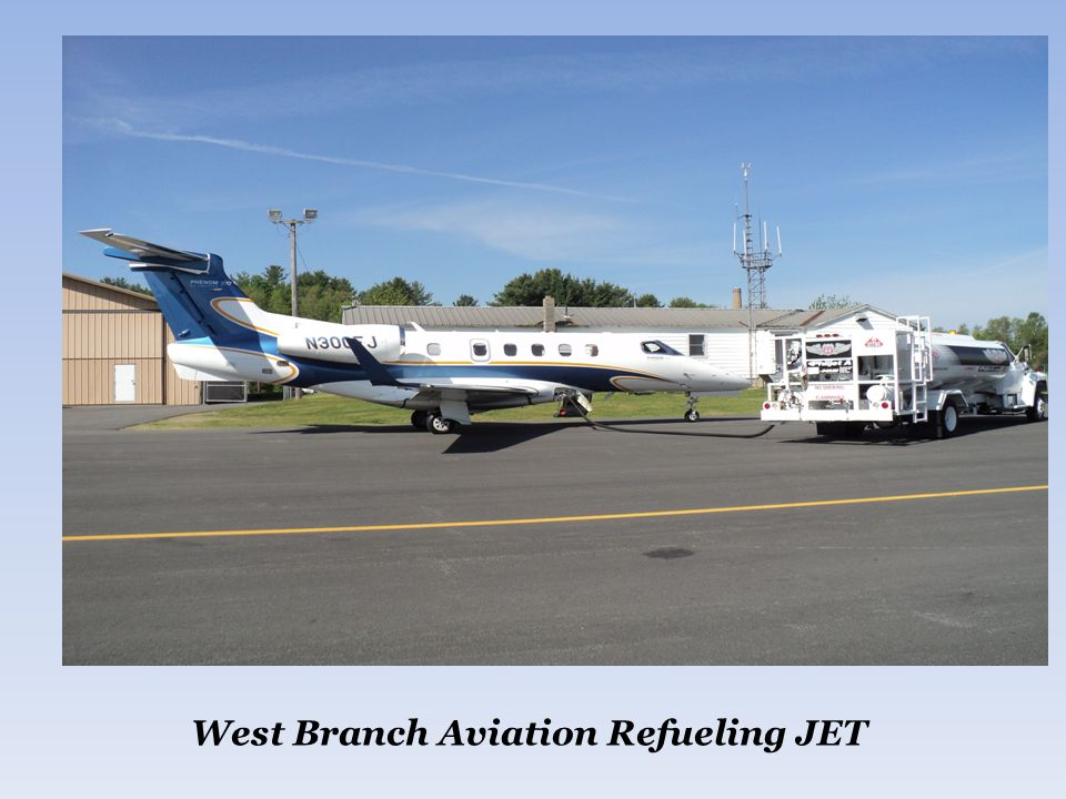 West Branch Aviation Refueling JET