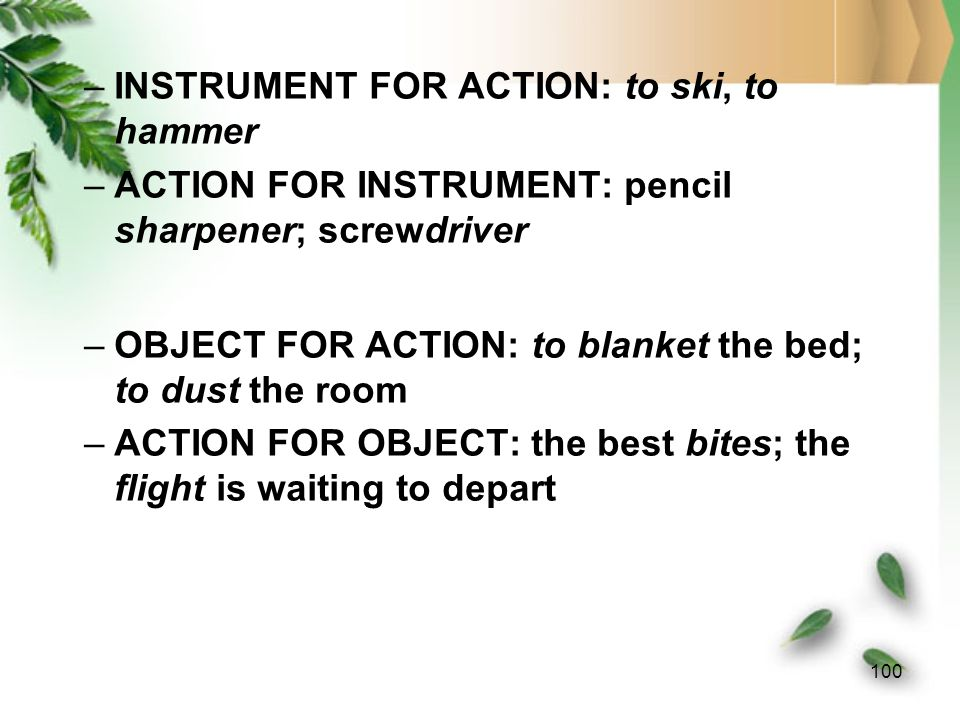 99 (2) Parts of an ICM (i) Action ICM.
