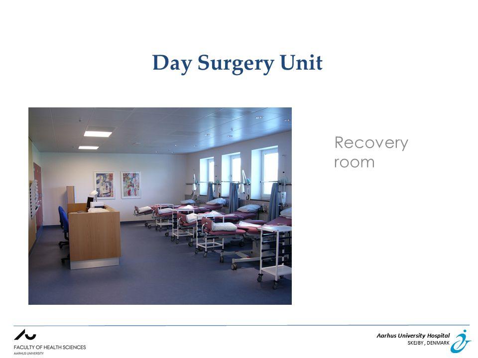 Aarhus University Hospital SKEJBY, DENMARK Aarhus University Hospital SKEJBY, DENMARK Day Surgery Unit Recovery room