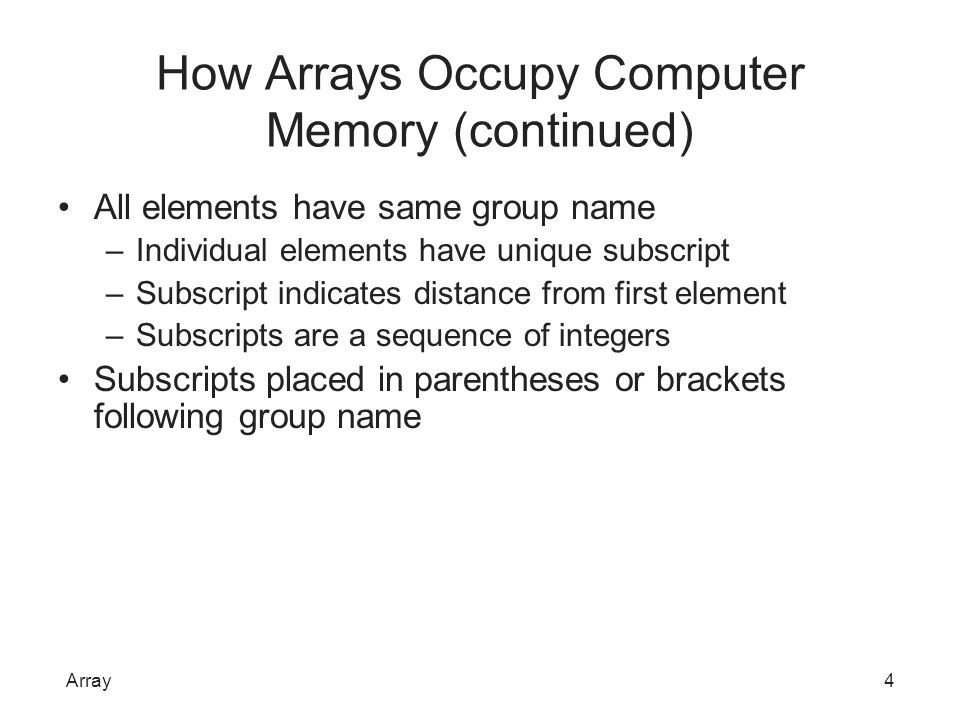 Searching an Array for a Range Match Sometimes programmers want to work with ranges of values in arrays Example: mail-order business –Read customer order data; determine discount based on quantity ordered First approach –Array with as many elements as each possible order quantity –Store appropriate discount for each possible order quantity Array25