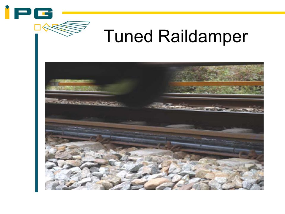Tuned Raildamper