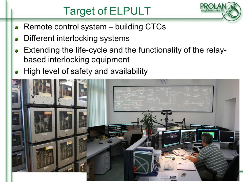15 Onboard system for locomotives Central Unit GPS - GSM Fuel and energy supervisory GPS based localization Engine diagnostics