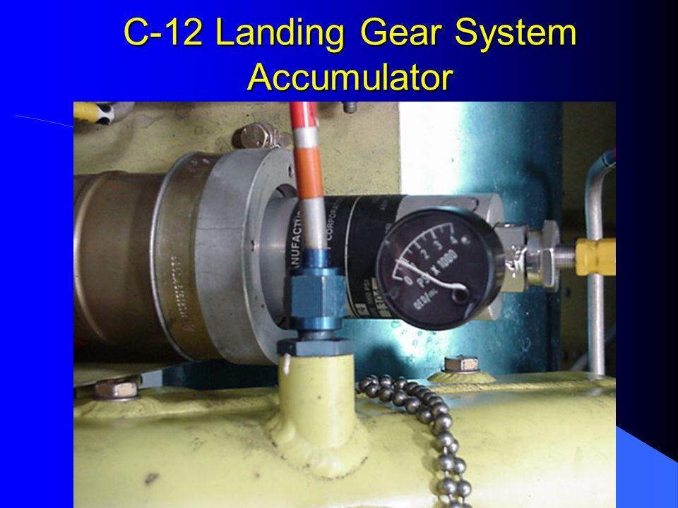 C-12 Landing Gear System Accumulator