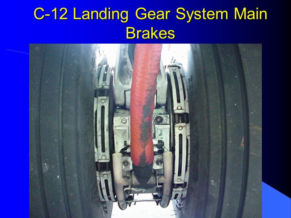 C-12 Landing Gear System Main Brakes
