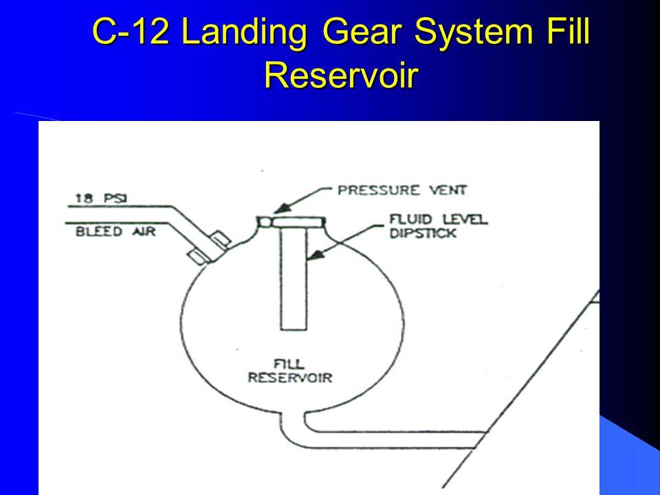 C-12 Landing Gear System Safety Switch
