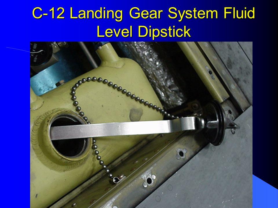 C-12 Landing Gear System Crush Block