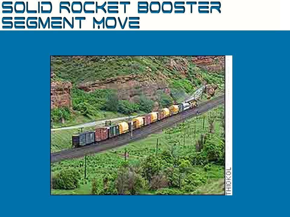 Solid Rocket Booster Segment Arrival