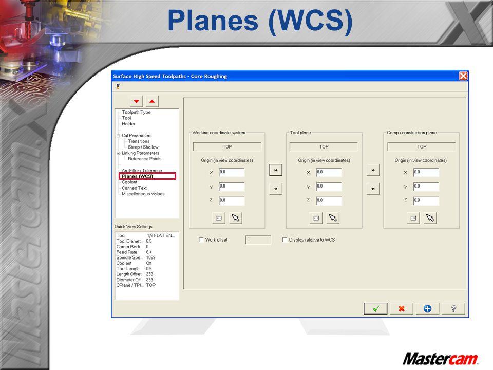 Planes (WCS)