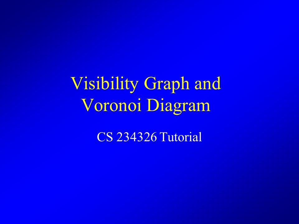 Visibility Graph and Voronoi Diagram CS 234326 Tutorial