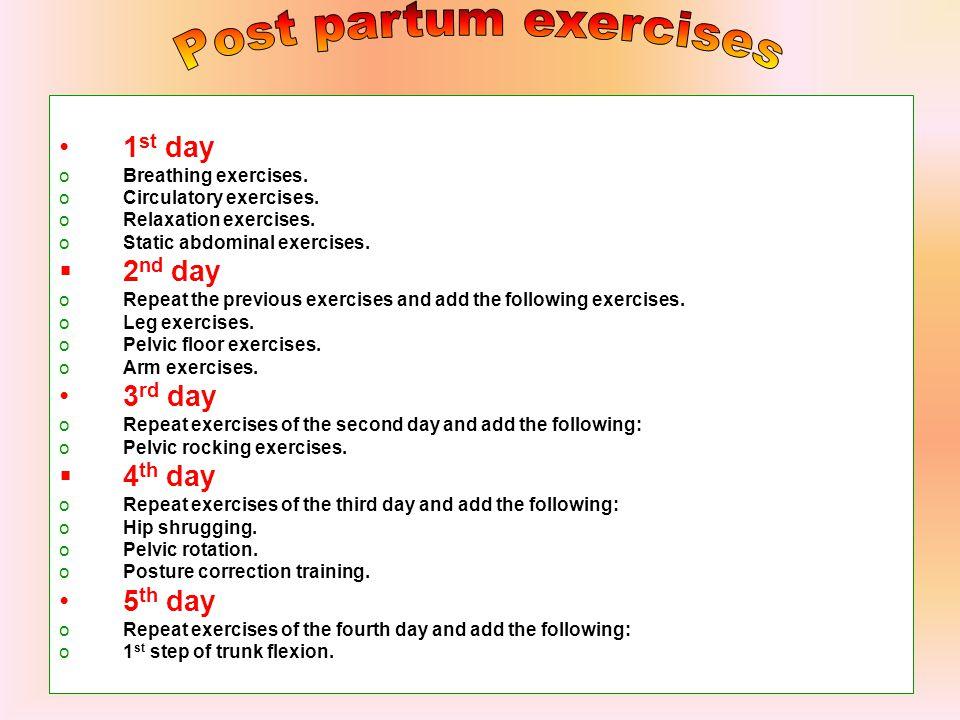  Post partum heamorrhage.  Nephritis.  Puerperal fever.
