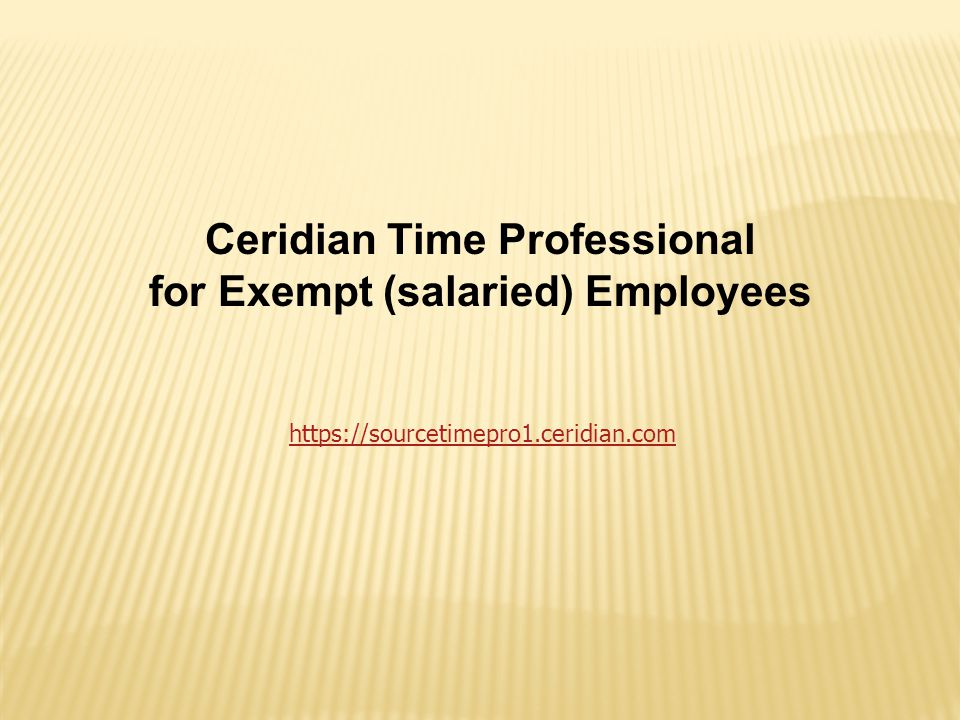 When you are finished, use the LOG OUT button to exit the Ceridian system.