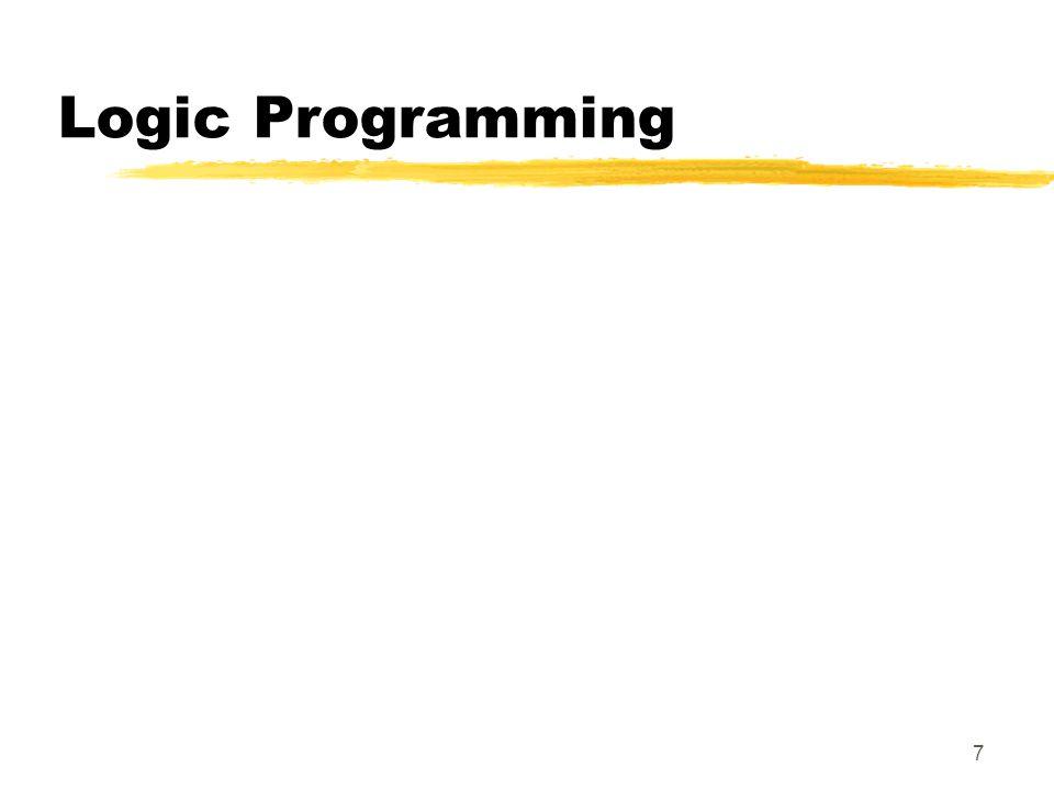 7 Logic Programming