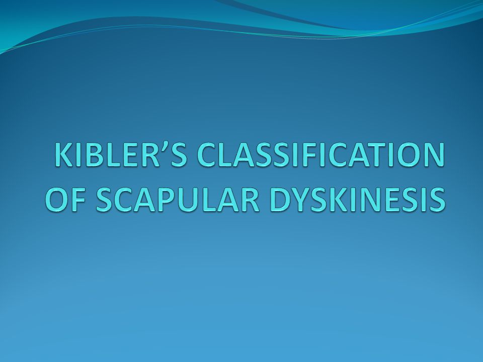 Guidelines for Integrated Rehabilitation of Scapular Dyskinesis Exercises Weeks (estimate) Scapular Motion Thoracic posture 1-3 Trunk flexion/extension/rotation 1-3 Lower abdominal/hip extensor 1-5 Muscular Flexibility Massage 1, 2 Modalities (eg, ultrasound, electronic stimulation) 1-3 Stretching (eg, active-assisted, passive, PNF) 1-8 Corner stretches (pectoralis minor) 1-3 Towel roll stretches (pectoralis minor) 1-3 Levator scapulae stretches 1-3 Sleeper position stretches (shoulder ER) 1-3