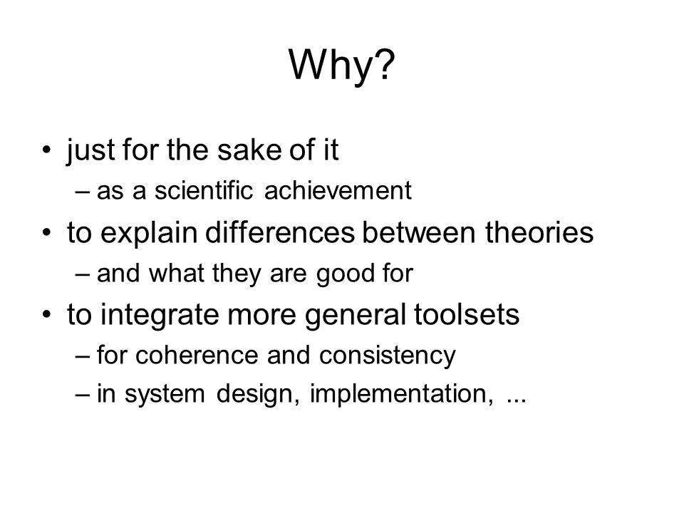 A Transition System a set P of processes: nil, p, q, Lp,… a set A of observations: a, b, … –communications: x, y,...