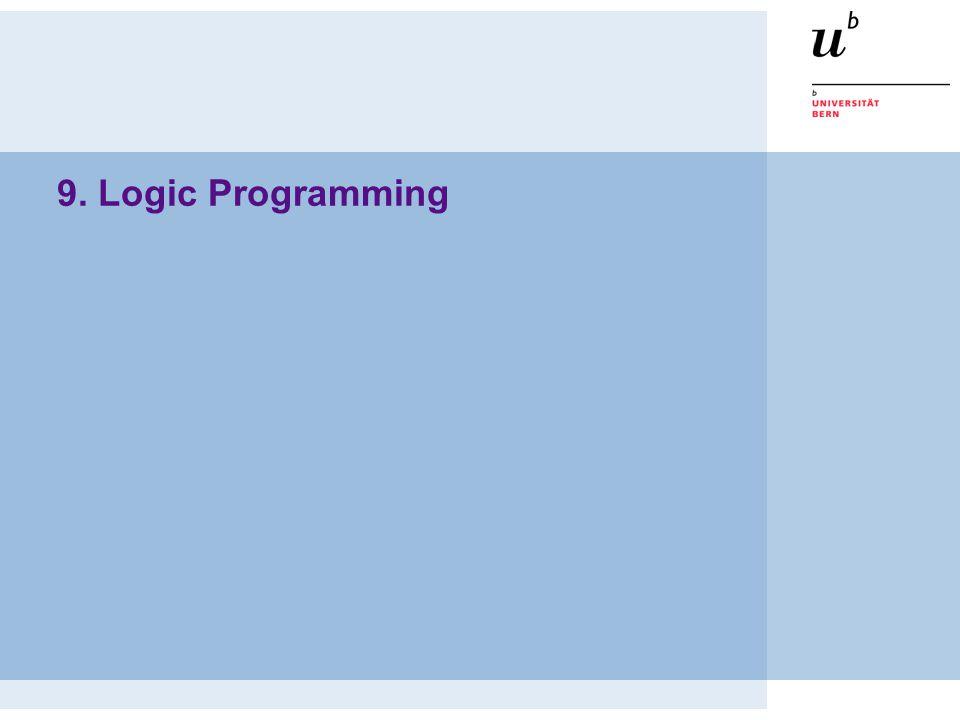 9. Logic Programming
