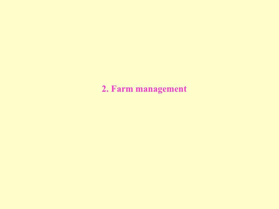 2. Farm management