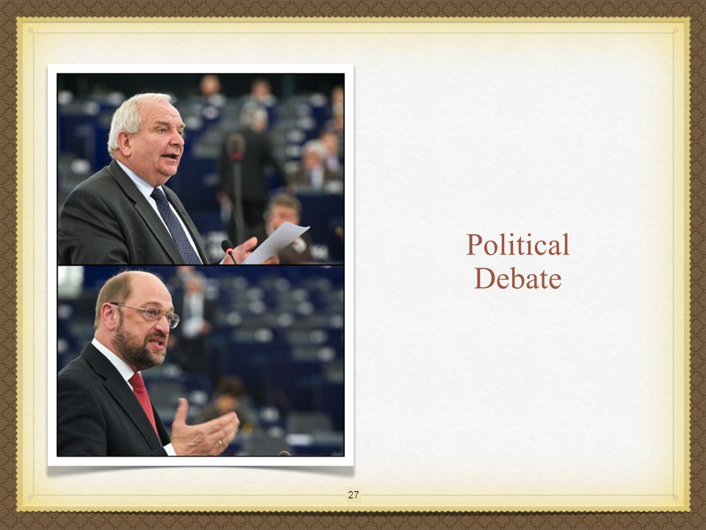 27 Political Debate