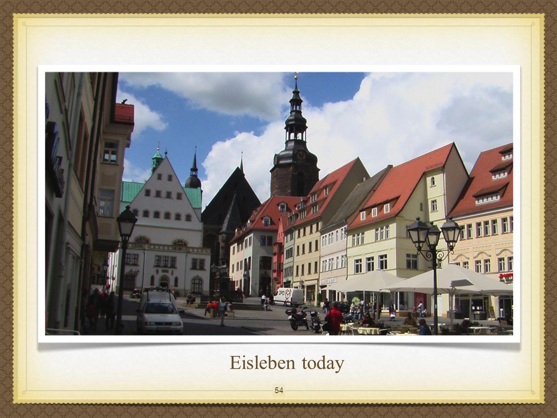 54 Eisleben today