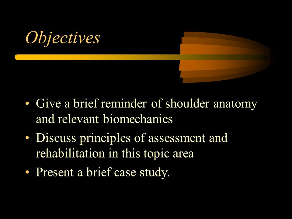 Functional Anatomy of the shoulder complex: It is a highly mobile set of joints dependent on muscle control for stability.