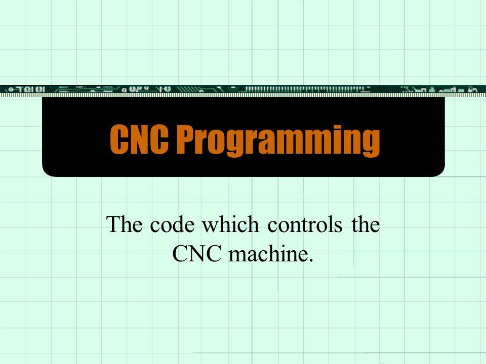 CNC Programming  NC Code NC Code  Sample NC Part and Program Sample NC Part and Program  M Codes M Codes  G Code G Code