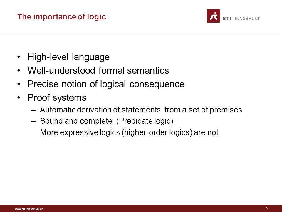 www.sti-innsbruck.at BASIC LOGIC DIALECT Basic interchange format for logic rules 40