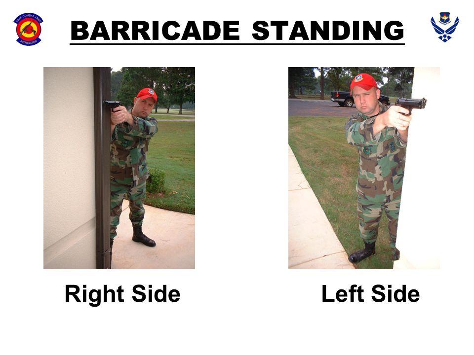BARRICADE STANDING Right SideLeft Side