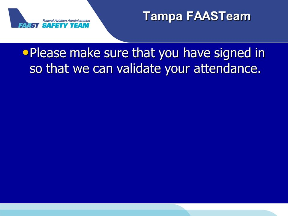 Tampa FAASTeam : Tower: N-Number Hold Short / Line up and wait Wind Clearance Handoff
