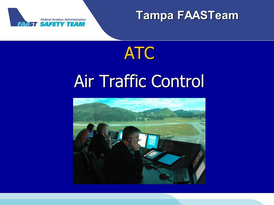 Tampa FAASTeam ATC Air Traffic Control