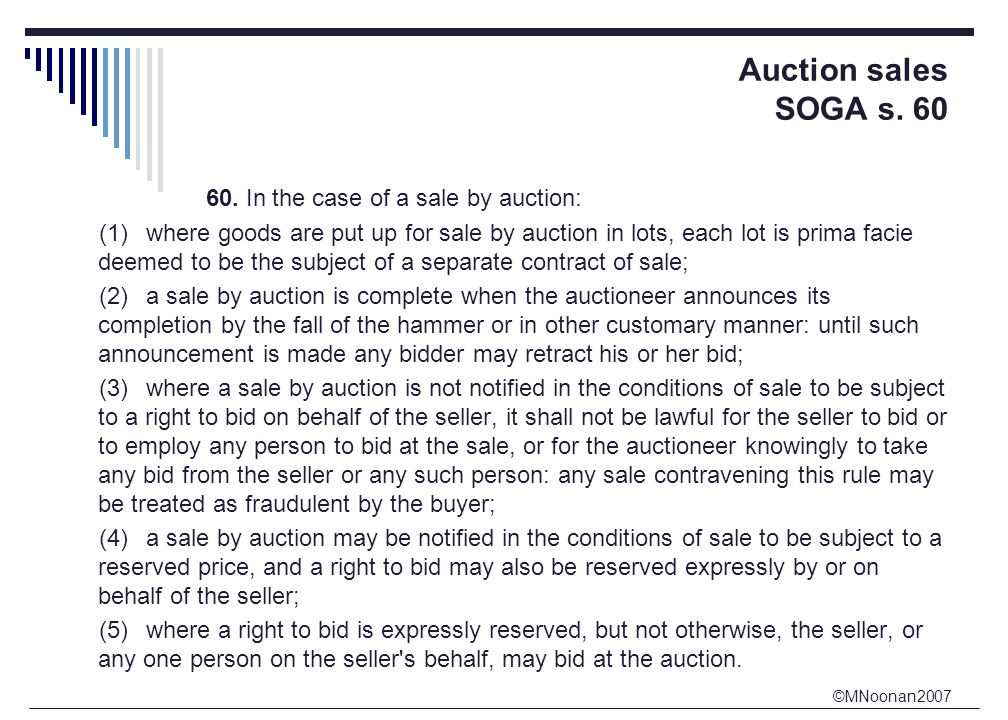 ©MNoonan2007 Auction sales SOGA s. 60 60.