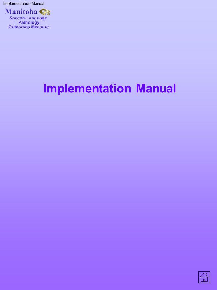 Implementation Manual