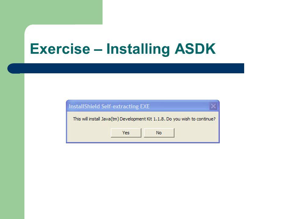Exercise – Installing ASDK