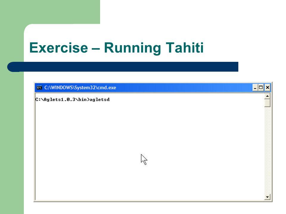 Exercise – Running Tahiti