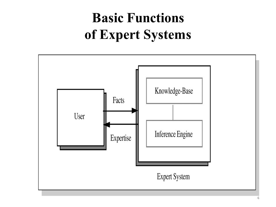 Basic Functions of Expert Systems 4
