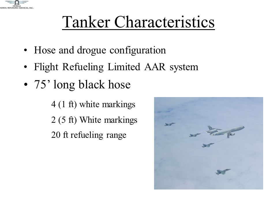 Post AAR Procedures After pre-briefed offload, when cleared by the tanker, receiver initiates disconnect Reform RIGHT, or reform LEFT as directed to await wingmen When AAR is complete, cleared to depart normally high and to the right (or as directed) Tanker will report offload prior to receivers departing