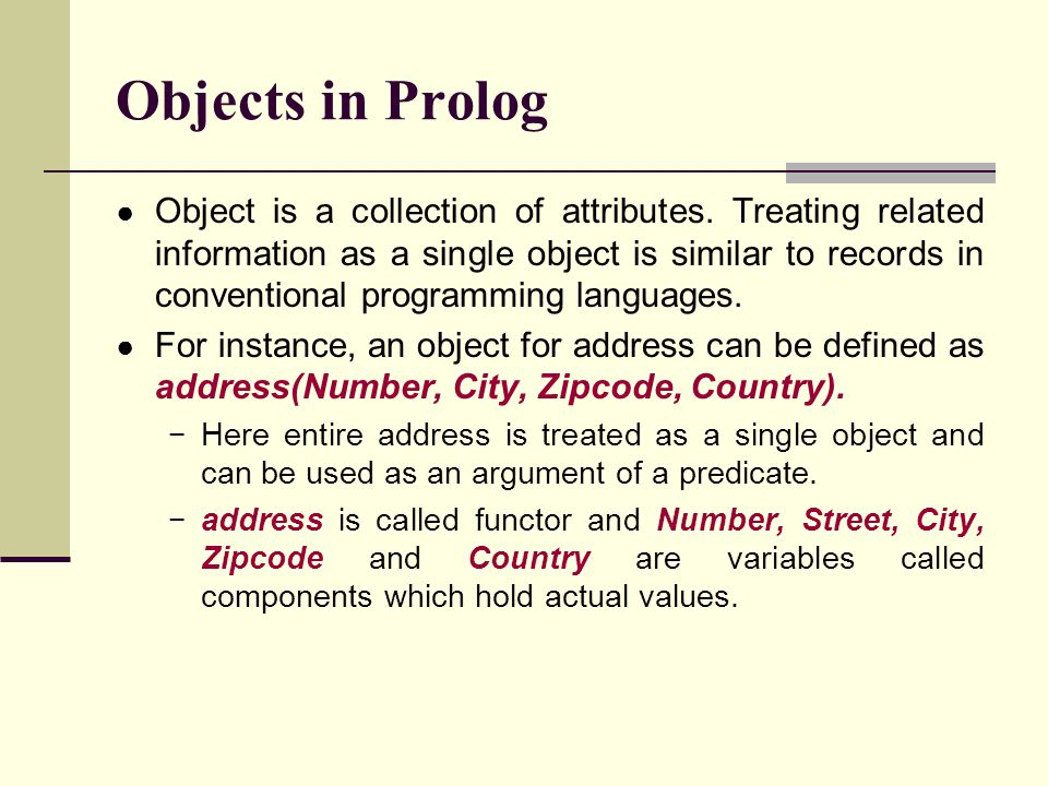 Prolog Program using Cut list(U, F):- user(U), facility(U, F).(1) facility(U, F):- overdue(U, B), !, basic(F).(2) facility (U,F) :- general((F).