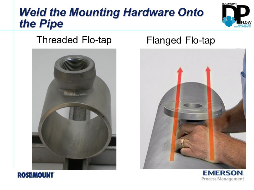 Attach the Fully Retracted Flo-tap Assembly to the Valve Flanged Flo-tap – Use a hoist strap and crane if needed