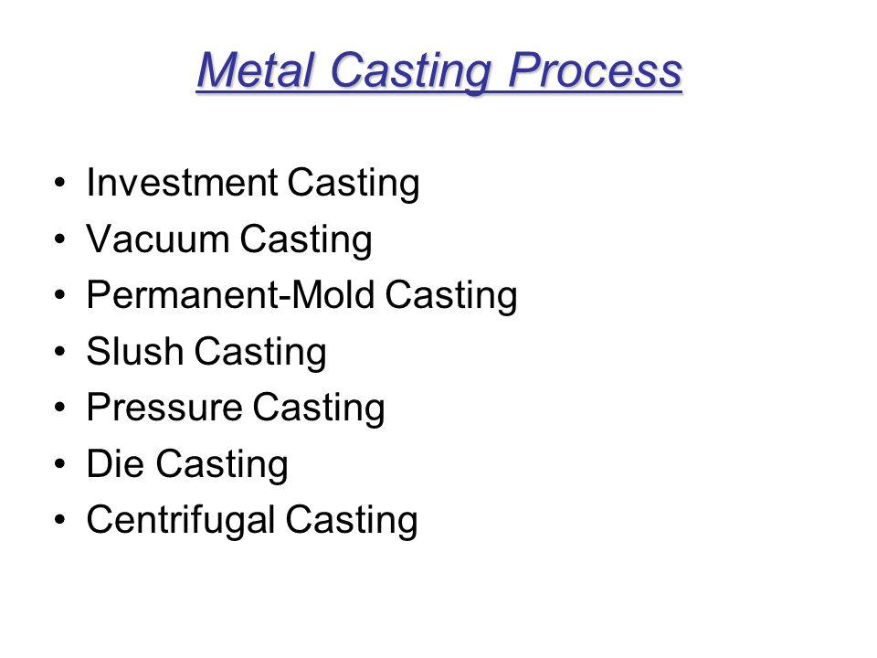 Semi centrifugal Casting Process (a) Schematic illustration of the semi centrifugal casting process.