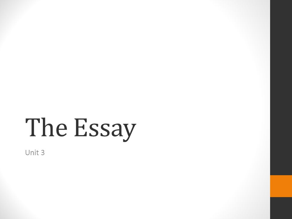 Review What are the Big 3 you need to focus on while writing your essay.