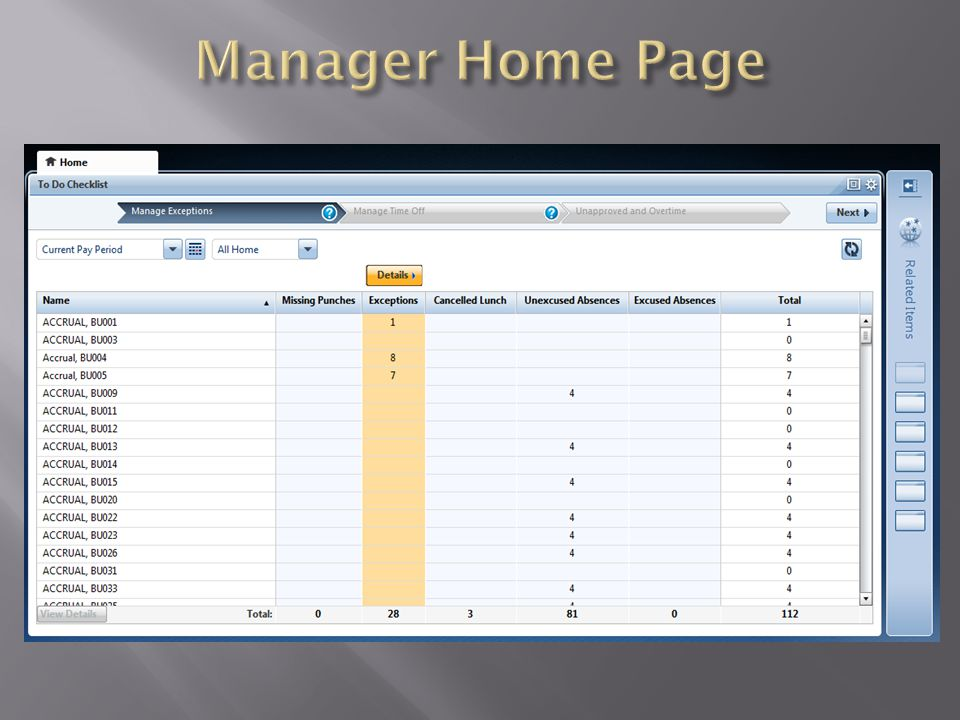 As a manager, to access your time card click on Workspaces