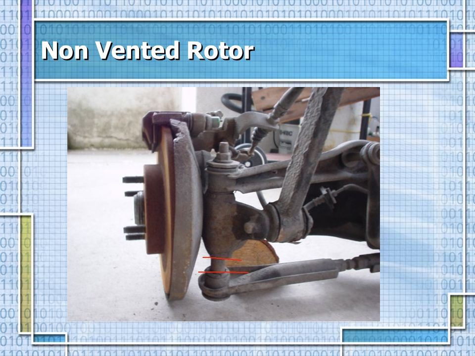 Non Vented Rotor