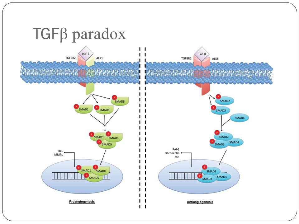 TGF β paradox Daniel R. Principe et al. JNCI J Natl Cancer Inst 2014;106:djt369