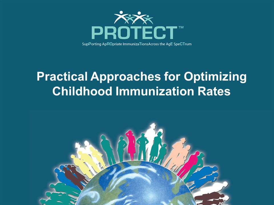 Educational Learning Objectives At the conclusion of this presentation, the participant should be able to: Acknowledge the indications and recommendations for current vaccines and vaccine schedules across childhood populations Address immunization barriers frequently encountered during patient/caregiver communications regarding safety, efficacy, and possible misinformation Implement strategies for improving immunization rates within one's clinical practice, taking into account current immunization schedules and guidelines