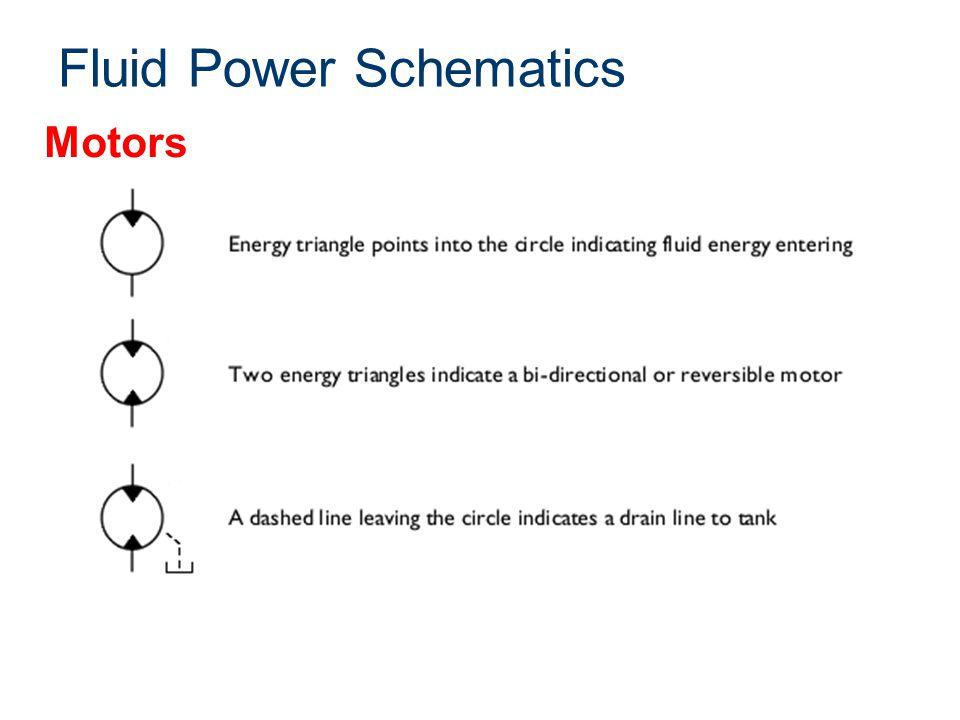 Fluid Power Schematics Motors
